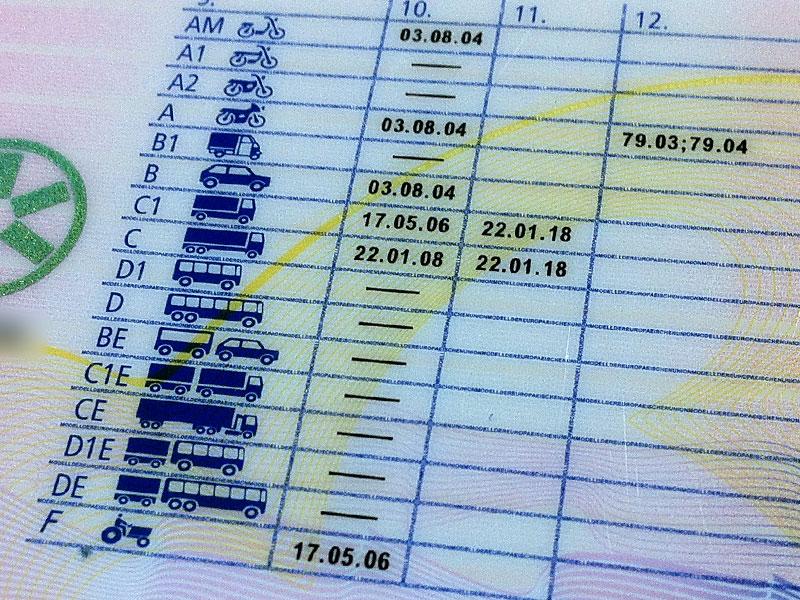 führerschein a1 79.03 und 79.04